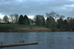 Walk around Coate Water