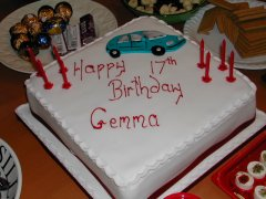 Gemma & Sheena's 17th birthday party
