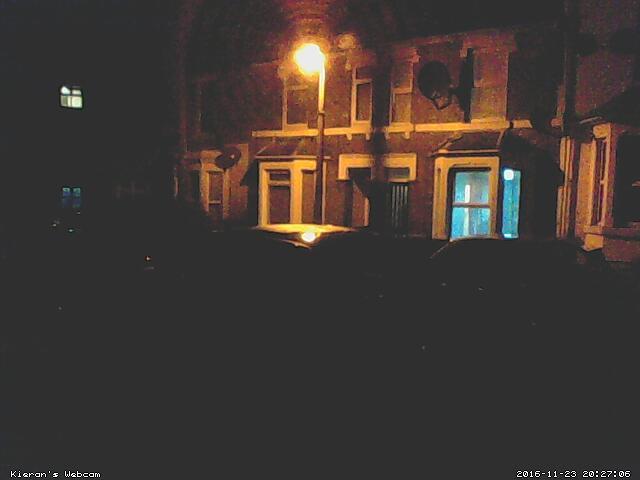 Kieran's Webcam