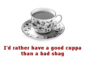 Good cuppa