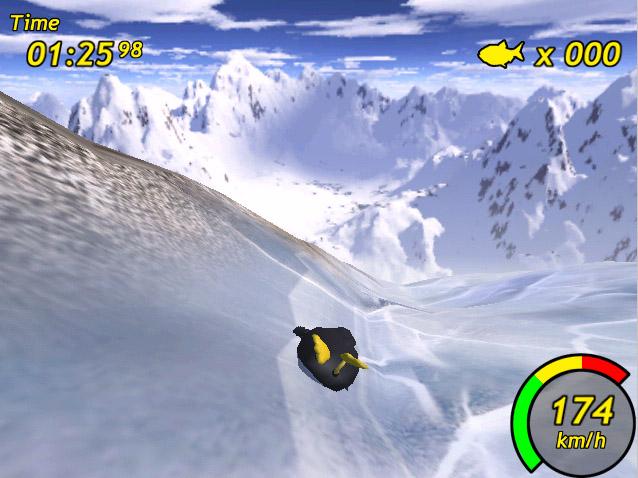 Tux Racer Screen Shot