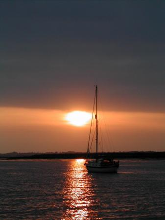 Beatiful sunset taken from Burnaby