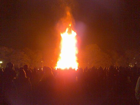 Hyde Park Bonfire